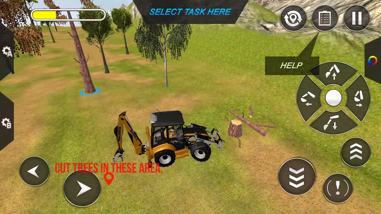excavator simulator free game
