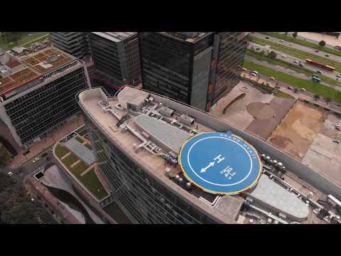 Volando en Drone, Mavic Air, 4K Hotel Grand Hyatt Bogota, Colombia