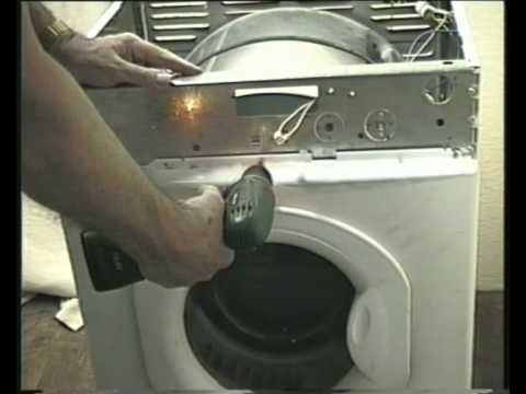 How to Fit A Belt to a tumble Dryer changing and replacing YouTube – White Knight Tumble Dryer Wiring Diagram