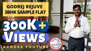 Godrej Rejuve | 3BHK Sample Flat | ये देखे बिना न खरीदें Godrej में Flat | Keshav Nagar