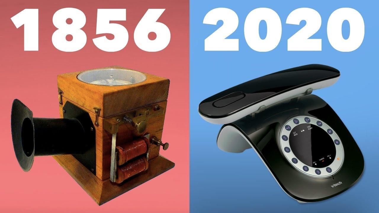 Best Cordless Phones 2020 Evolution of the Telephone 1856   2020 (Landline)   YouTube