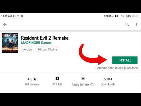 Download Resident Evil 2 Remake From Playstore In Android