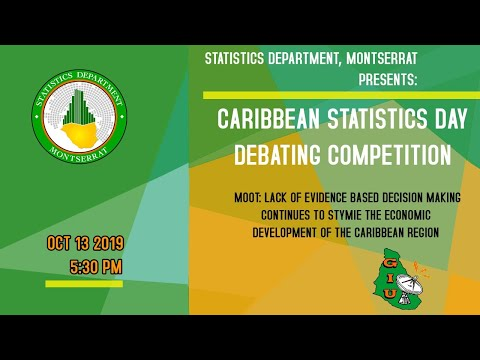 Caribbean Statistics Day Debating Competition