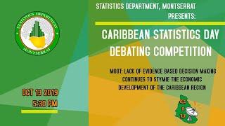 Caribbean Statistics Day Debating Competition