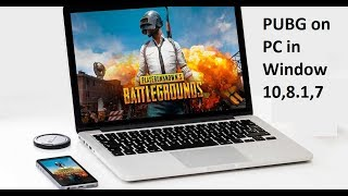 How to Download & Install PUBG Mobile on PC in Windows 10,8.1,7 in HindiUrdu