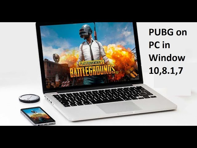 How to Download & Install PUBG Mobile on PC in Windows 10,8.1,7 in HindiUrdu #1