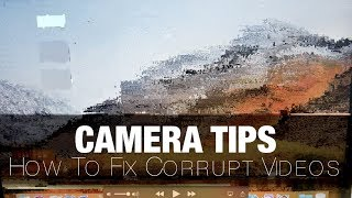 How To EASILY Recover Corrupt Video Files (Example ft. Panasonic GH5/G85/G9 .mdt)