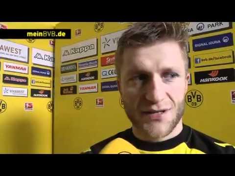 BVB - Mainz: Interviews mit den Torschützen Kagawa und Kuba