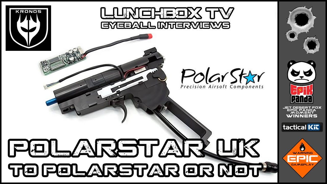 POLARSTAR & HPA IN THE UK. Interview with Grange Airsoft by Eyeball.