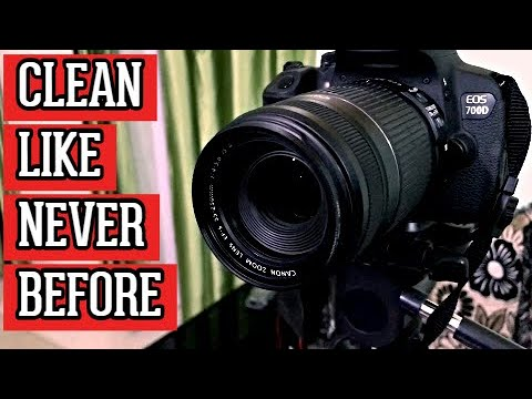 How to Clean Your DSLR Like Never Before   DSLR Camera Cleaning Kit   Clean my DSLR Camera Canon