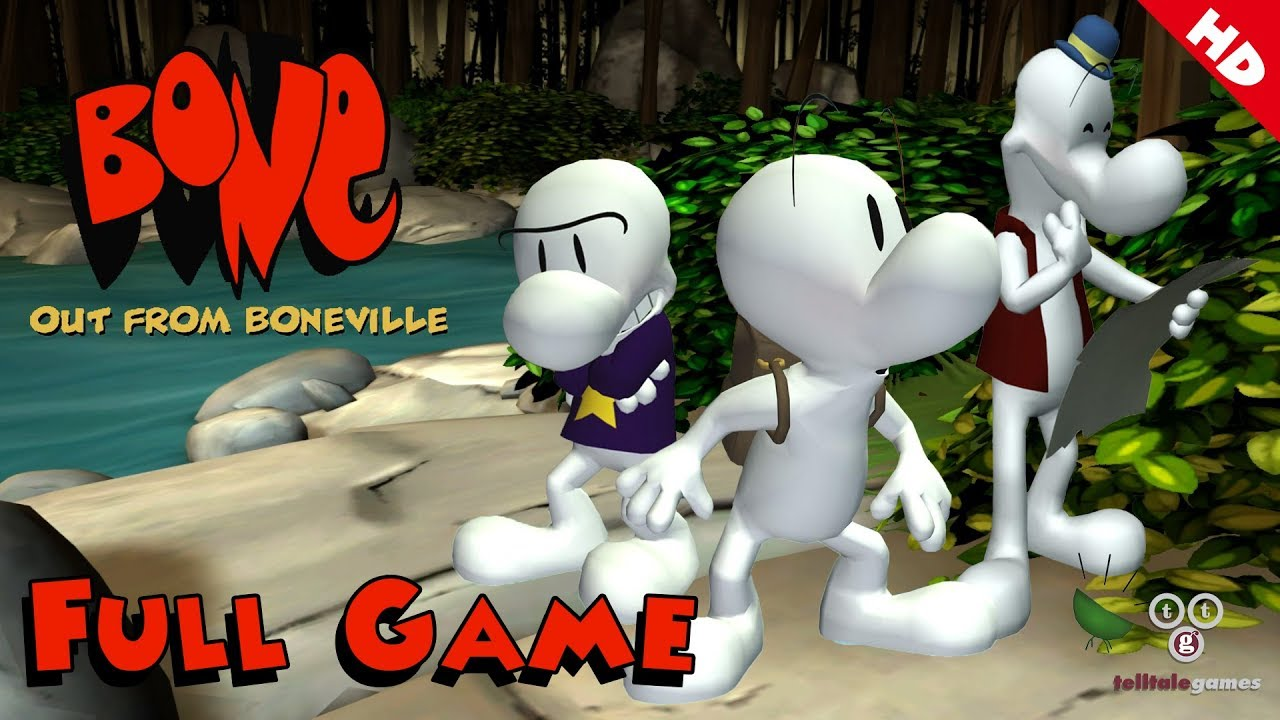 Download Bone: Out From Boneville (Telltale Games) - Full Game 1080p60 HD Walkthrough - No Commentary