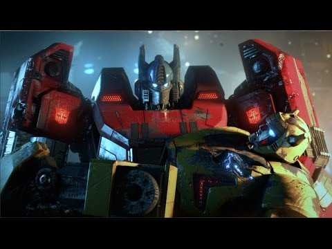 Transformers Fall of Cybertron Full Movie All Cutscenes