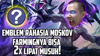 EMBLEM RAHASIA MOSKOV, GOLD BISA 2X LIPAT MUSUH!