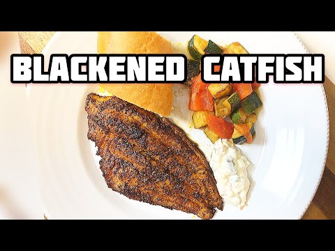 How To Make Blackened Catfish