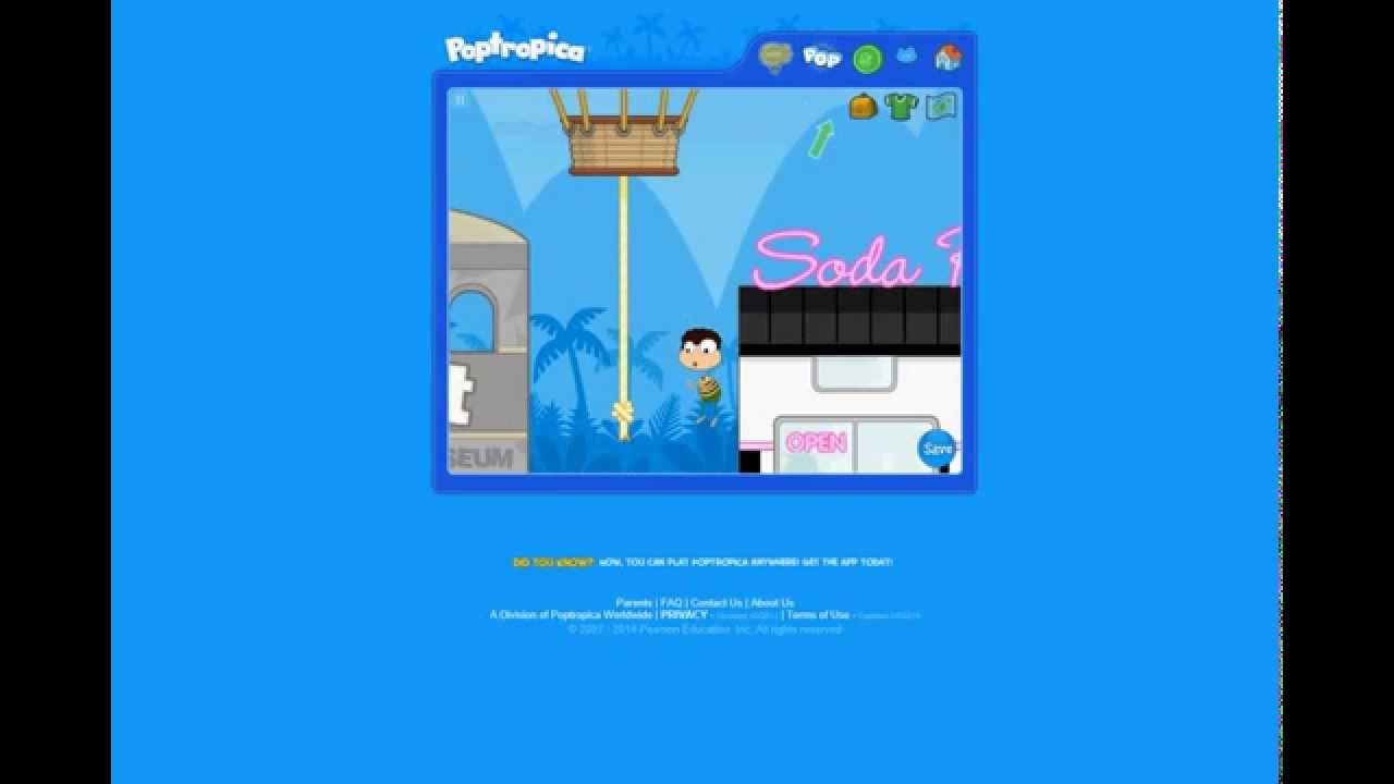 How To Make an Account on Poptropica and Save Your Game