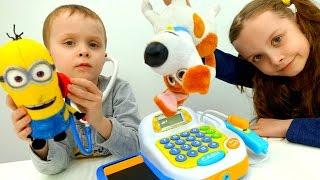 Видео для детей - Куклы и игрушки