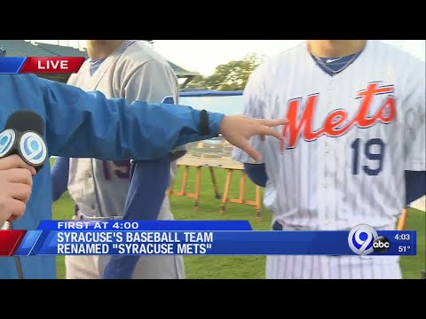 Justin The Web Guy - Warm Up With The Syracuse Mets Open House This Coming Saturday!