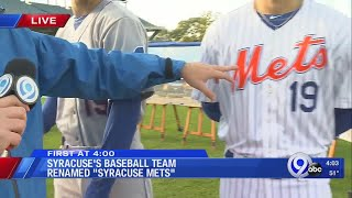 Announcements from the Syracuse Mets