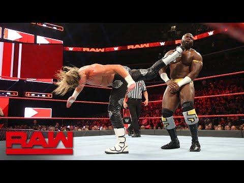Apollo Crews vs. Dolph Ziggler: Raw, Oct. 29, 2018