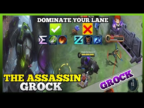 You will use Assassin Grock after watching this | Master the Basics | Grock Gameplay | MLBB