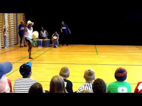 Nafsi Africa Acrobats Youngsters in Denmark: The Playground