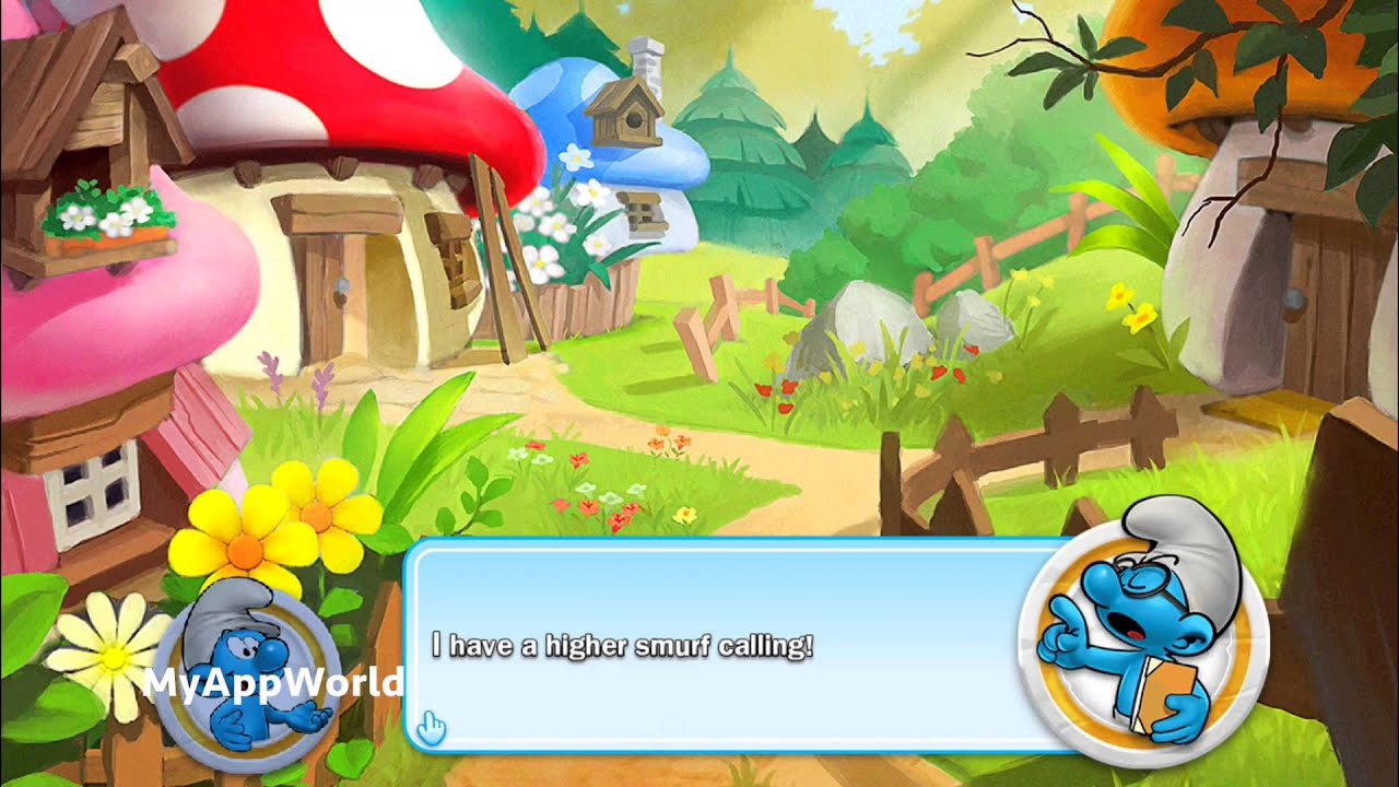 Smurf Wallpaper 3d Smurfs Village And The Magical Meadow Ios Gameplay Fullhd