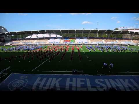 Full TeamGB performance, Sonera stadium Helsinki