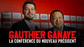 La 1re conference de presse de Gauthier Ganaye, nouveau président de l'OGC Nice