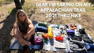Appalachian Trail Thru Hike 2021 Gear List (Low Budget)