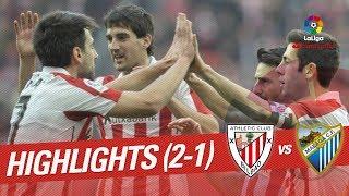 Resumen de Athletic Club vs Málaga CF (2-1)