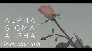 Alpha Sigma Alpha Greek Sing 2018 - MTV Music Awards