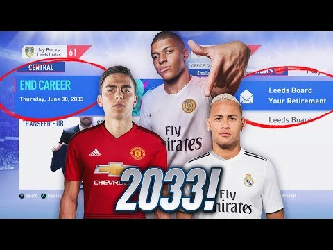 THE END OF CAREER MODE IN FIFA 19!!! (2033)