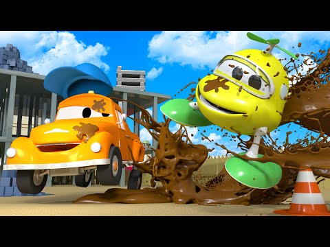Baby Hector - Tom the Tow Truck's Car Wash | Cars cartoons for kids