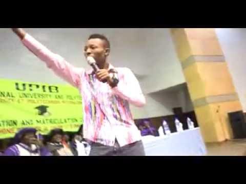 Funky P live in UPIB, Benin Republic volume 1
