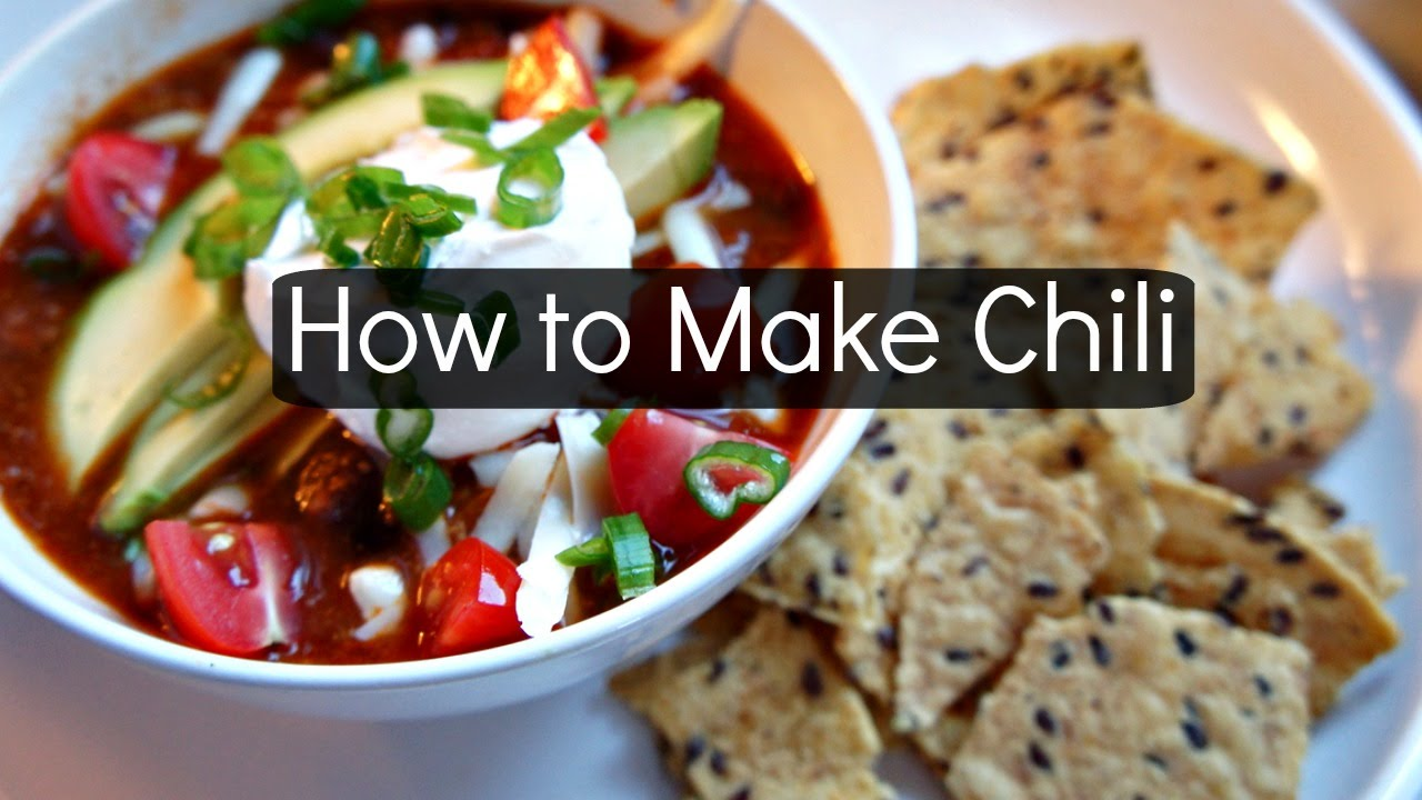Look no further for the ultimate, easy chili recipe. With just a push of a button, your weekday dinner is taken care of as the chili cooks away in the slow-cooker. Add chili to your next barbeque to top grilled sausages for an upgraded version of chili dogs.