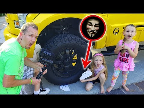 Game Master Returns!!! Top Secret Abandoned Message Found Under Tonka Truck Tire!