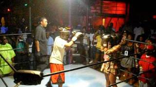 FOXY BOXING HIP HOP STYLE every monday night @ club nouveau tampa, fl doors open at 10pm