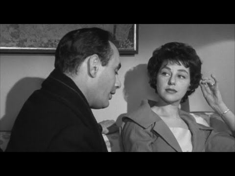 "Joan Copeland in the movie ""Middle of the Night"" (1959) (EN)"