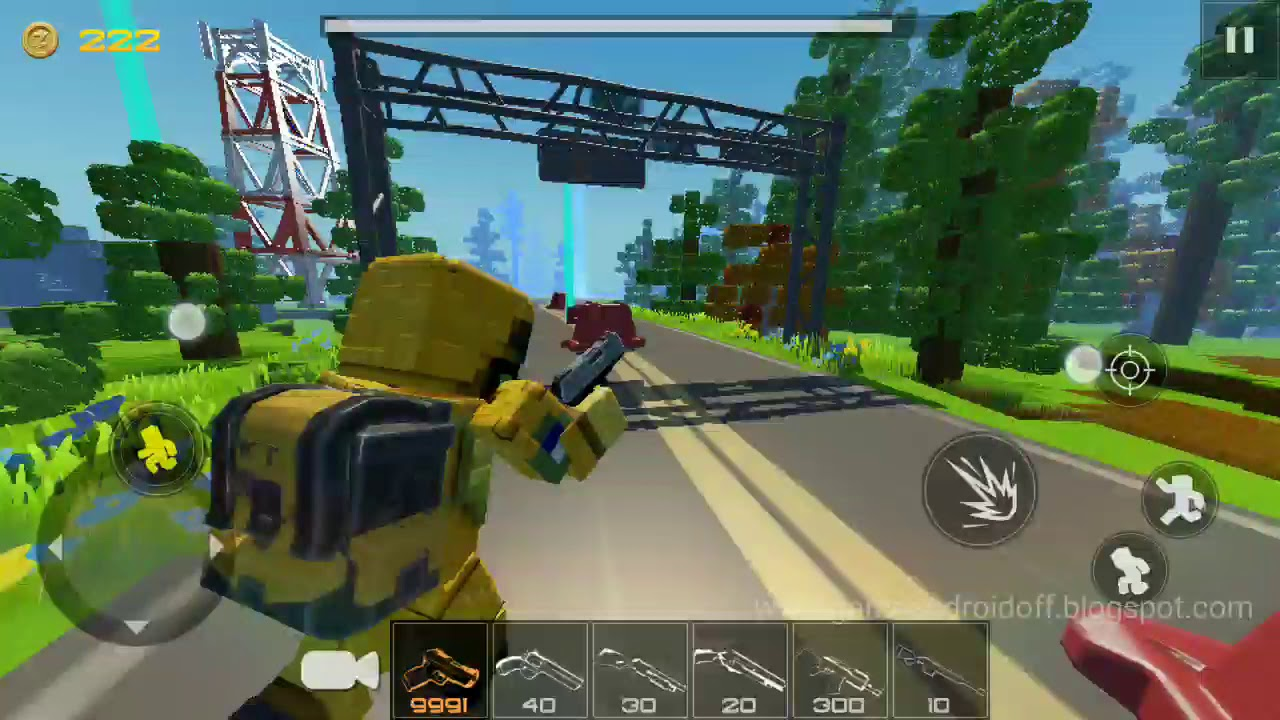 Huntercraft 25mb APK only Gameplay HD Test   Ratel Cell ...