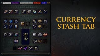 Path of Exile: Currency Tab