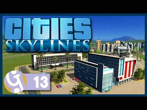 🏡 University Campus | Let's Play Cities: Skylines #13