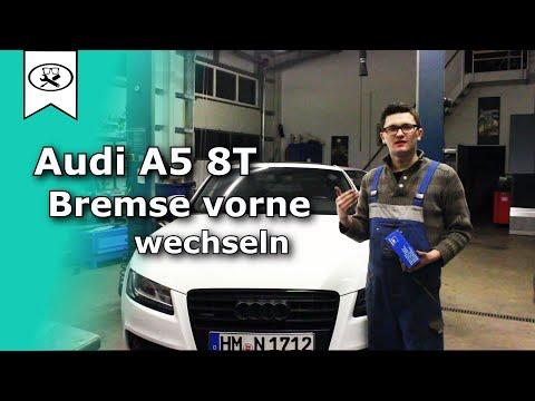 Audi A5 Bremsen Vorne wechseln   Switch brakes    Tutorial   VitjaWolf   HD
