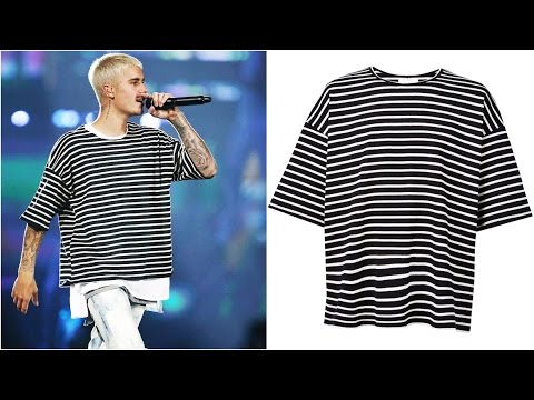 Justin Bieber Fashion Style, Clothes Brand (2016)