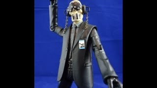 Custom VIC RATTLEHEAD V2 (Black Label) marvel legends dc universe classics action figure by HKC