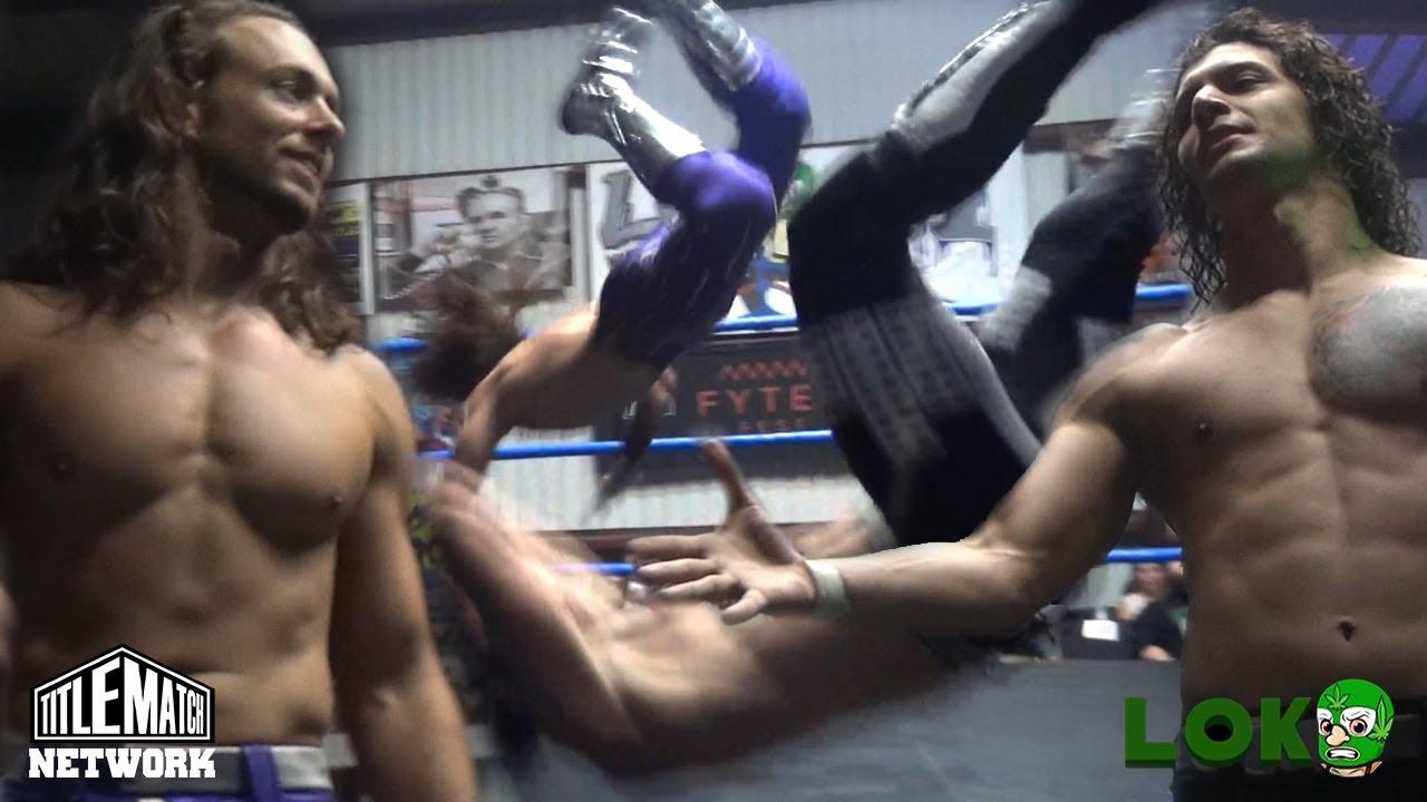 Will Allday vs Nathan Bradley (Loko Wrestling) Title Match Network
