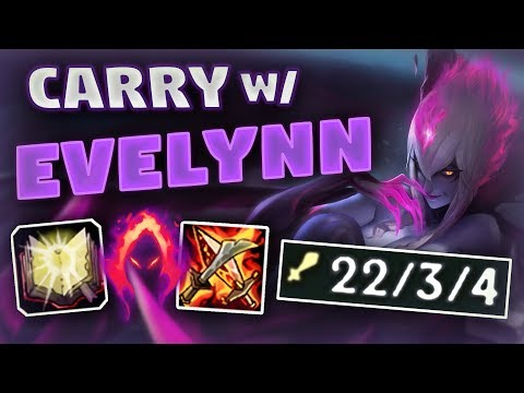 Evelynn Jungle EARLY DARK SEAL for MAXIMUM CARRY! - League of Legends