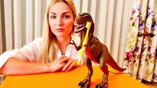 Развивающее видео: доктор лечит зубы динозавру