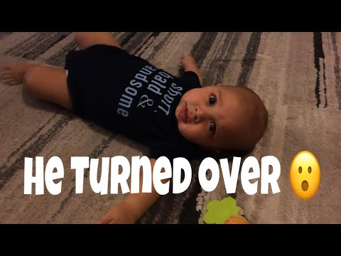 He Turned Over!