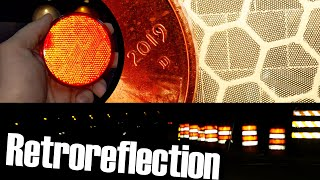 Retroreflectors; they're everywhere, and they cheat physics (sort of)