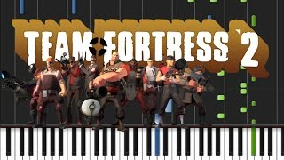 Team Fortress 2 - Meet the Medic Theme Song Piano Cover [Synthesia Piano Tutorial]